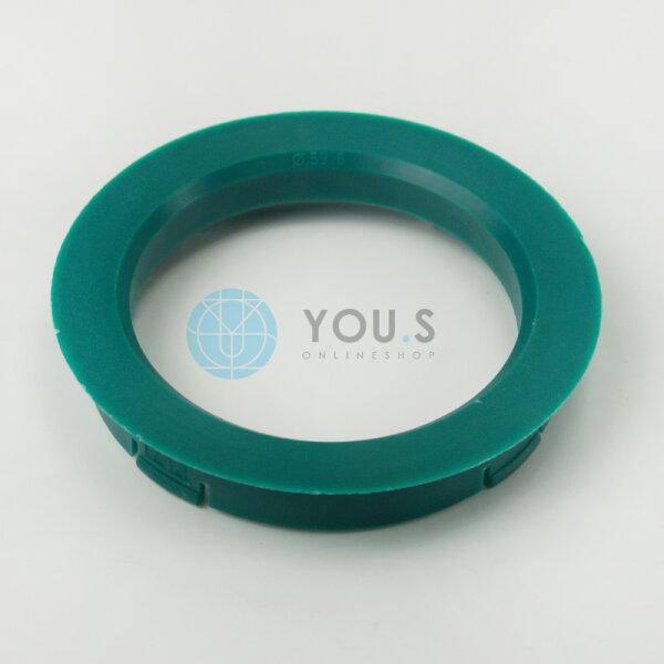 4 x ZENTRIERRINGE DISTANZRING für ALUFELGEN FZ27 74,1-70,2 mm CMS DBV